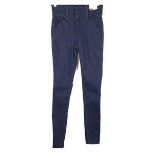 Express 6R High Rise Skinny Legging Stretch Jeans